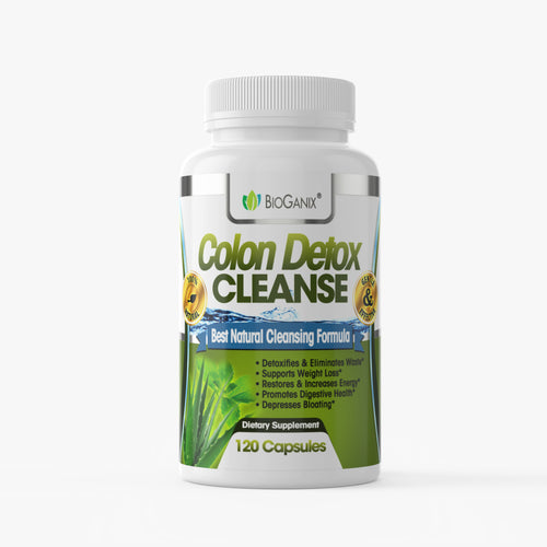 Colon Detox Cleanse (120ct) - Bioganix