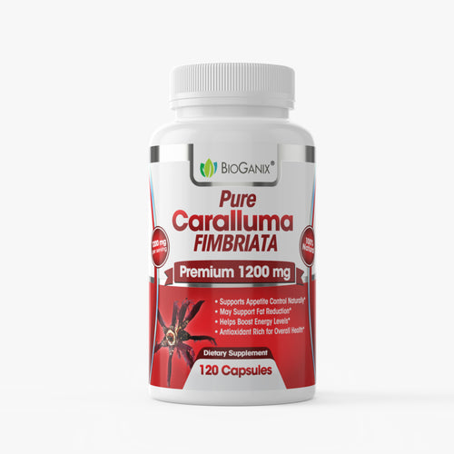 Pure Caralluma Fimbriata Extract 1200 mg (120ct) - Bioganix