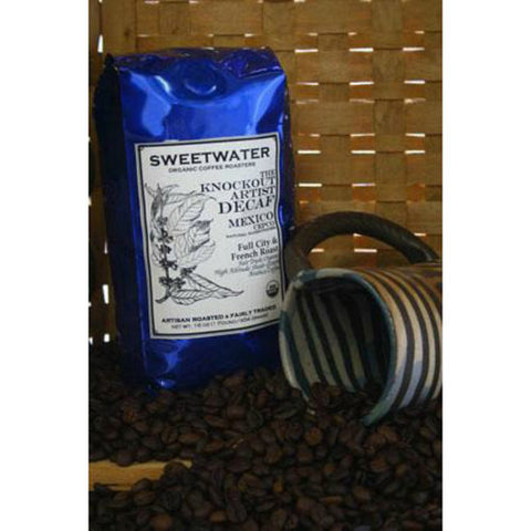 Decaf Knockout Mexican Organic Coffee 12oz Beans - Sweetwater Coffee