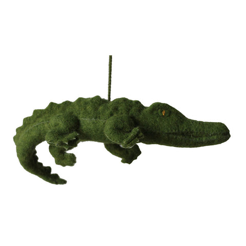 Gator Felt Holiday Ornament - Silk Road Bazaar (O)