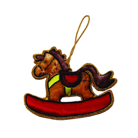 Rocking Horse Holiday Ornament - WorldFinds (H)