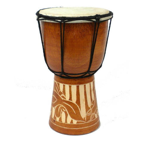 Mini 8 inch Djembe Drum - Jamtown World Instruments