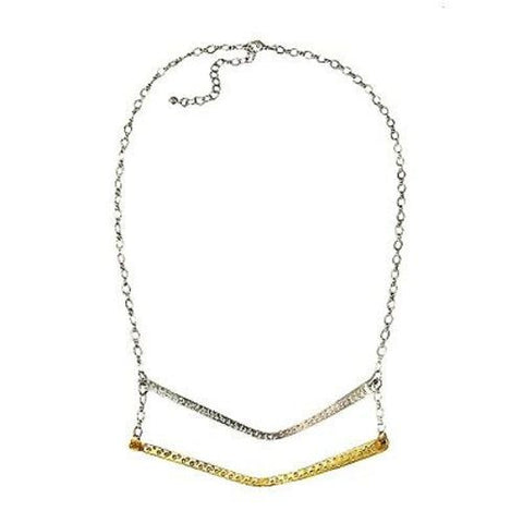 Double Arc Necklace - WorldFinds