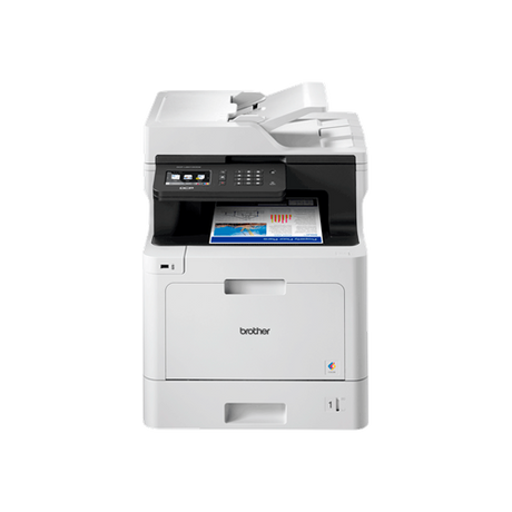Farveprinter alt-i-én duplex Brother DCP-L8410CDW - Installeret i klinikken