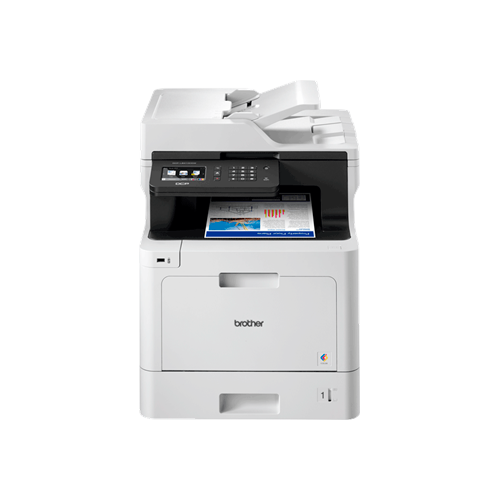 Farveprinter alt-i-én duplex Brother MFC-L8690CDW - Installeret i klinikken