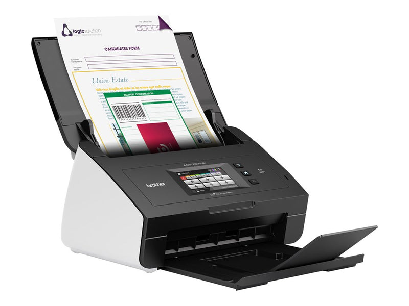 Brother ADS-2600We - Dobbeltsidet dokumentscanner