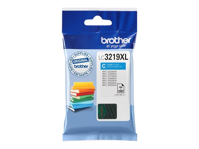 Brother LC-3219XLY toner (gul)