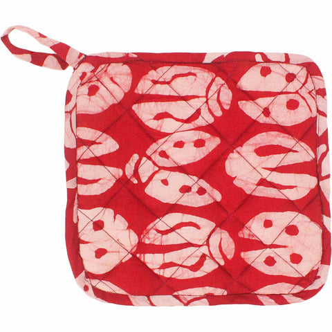 Pot Holder - Red Bugs - Global Mamas (T)