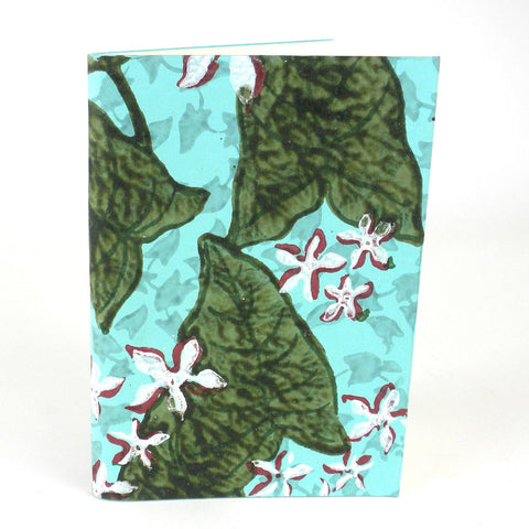Blue Lily Soft Journal - Sustainable Threads (J)