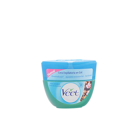 CERA DEPILATORIA en gel aceite almendras piel sensible 250ml