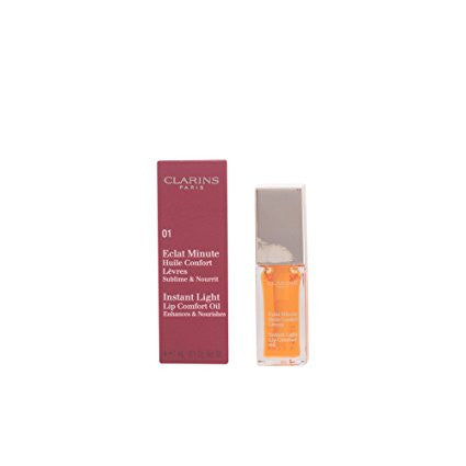 Clarins Lip Comfort Oil 01 Honey