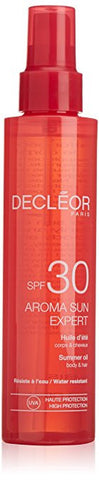 Decleor Aroma Sun Expert Body and Hair Oil with SPF 30 150 ml