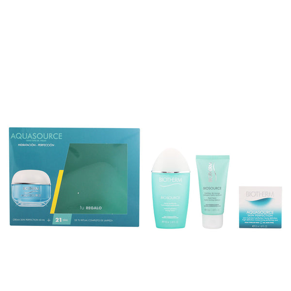 AQUASOURCE SKIN PERFECTION LOTE 3 PZ. CREMA AQUASOURCE SKIN PERFECTION 50ML + LIMPIADOR BIOSOURCE 50ML + LOTION BIOSOURCE PARA PIELES NORMALES A MIXTAS 100ML.