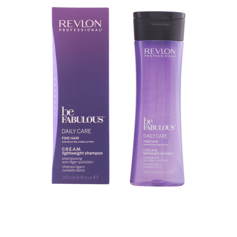 BE FABULOUS daily care fine hair cream shampoo 250 ml