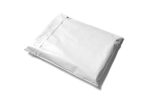 White Polymailer Courier Bags