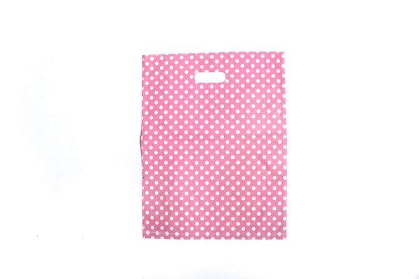 Polka Dotted Shopping Bag