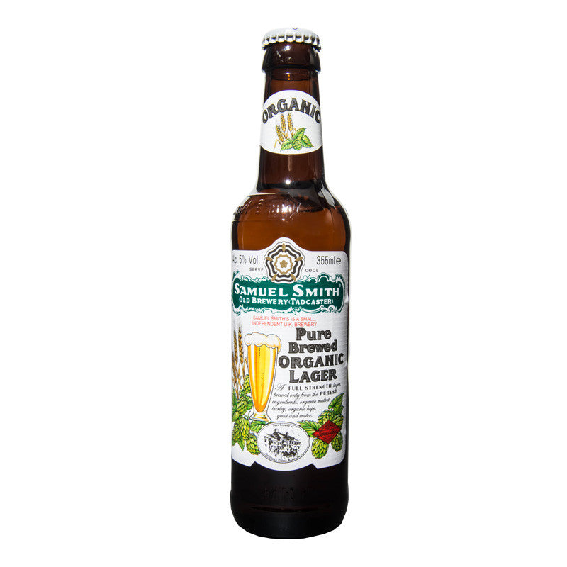 Organic Lager, British Lager 500ml, 5% - The Epicurean
