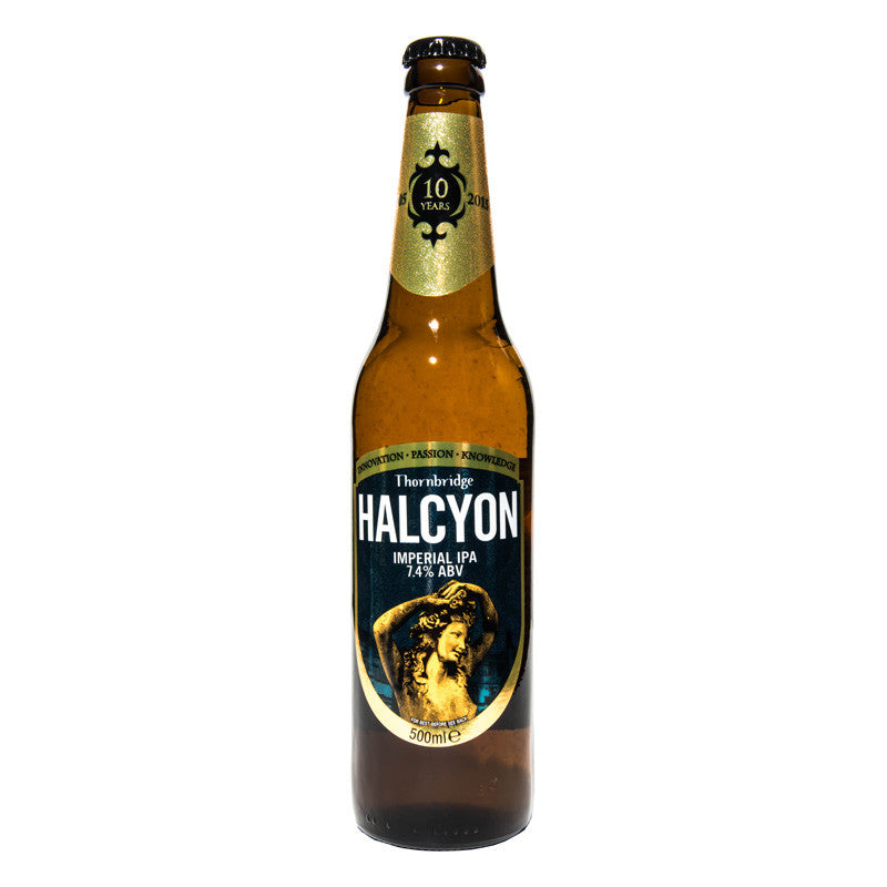 Halcyon British Imperial IPA Thornbridge Bottle
