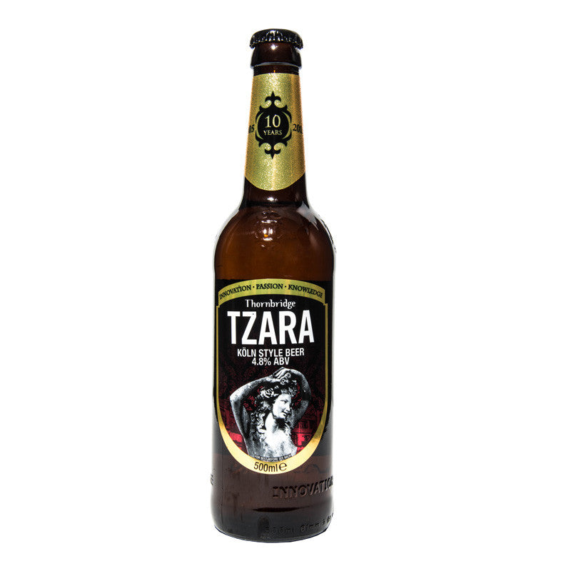 Tzara British Koln Style Beer Thornbridge Bottle