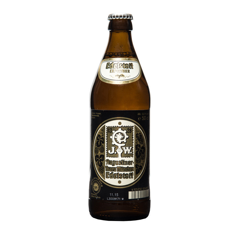 Augustiner, Edelstoff, German Lager, 5.6%, 500ml - The Epicurean