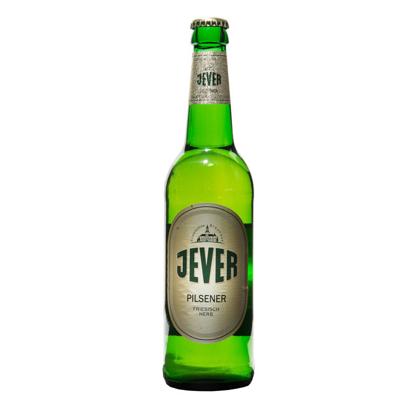 Jever, German Pilsener, 4.9% - The Epicurean