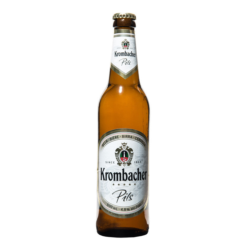 Krombacher, German Pilsner, 4.8%, 500ml - The Epicurean