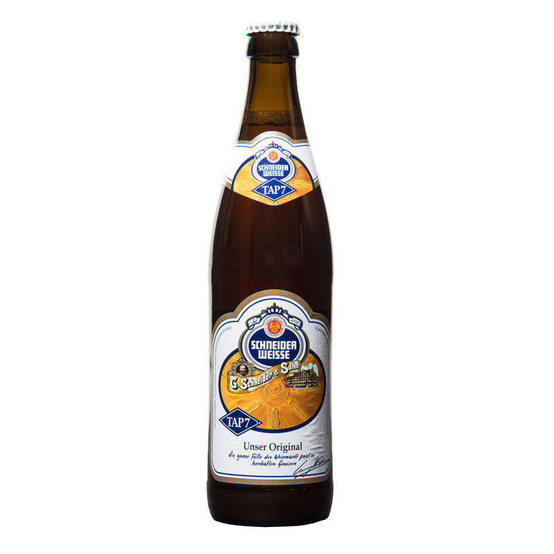Schneider Weisse TAP 7, German Wheat Beer, 5.4% - The Epicurean