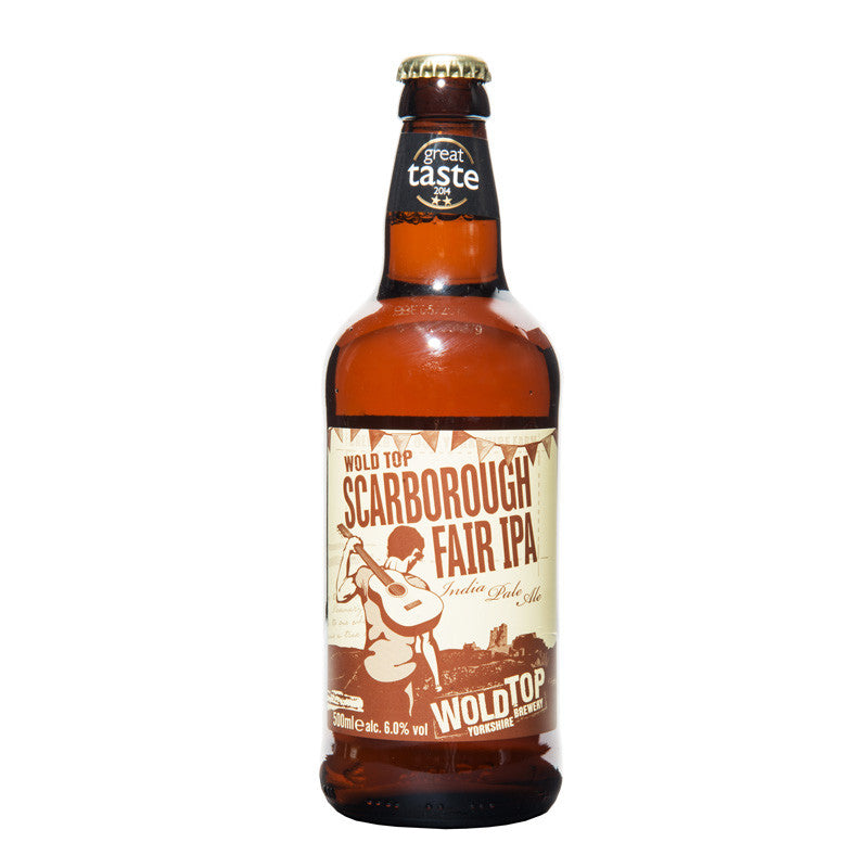 Scarborough Fair Gluten Free IPA Wold Top Bottle