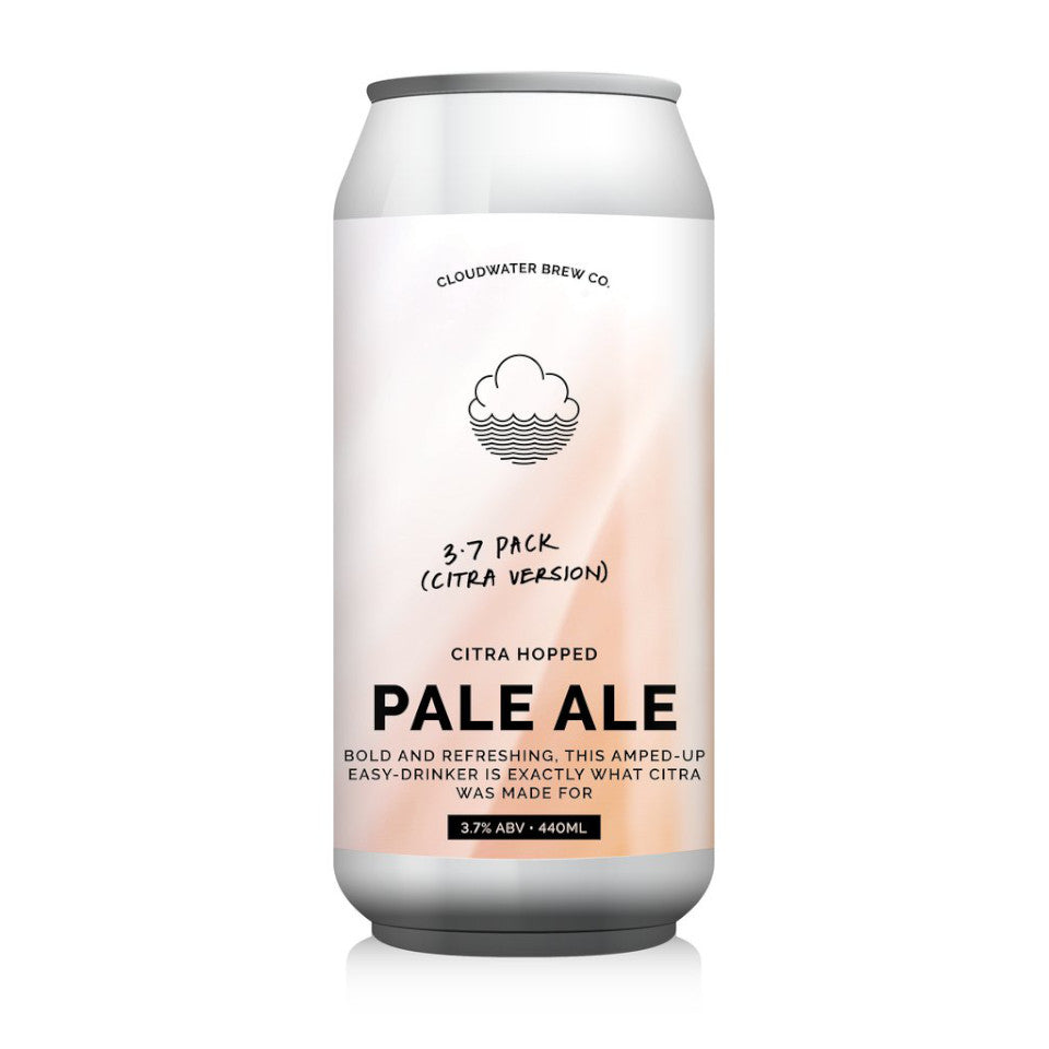 Cloudwater, Pale Ale 3.7 Pack Citra Version, Pale Ale, 3.7%, 440ml