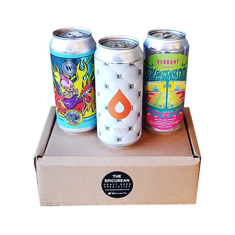 Connoisseur Level 3 Beer Box (Large Cans - Beers will vary) - The Epicurean