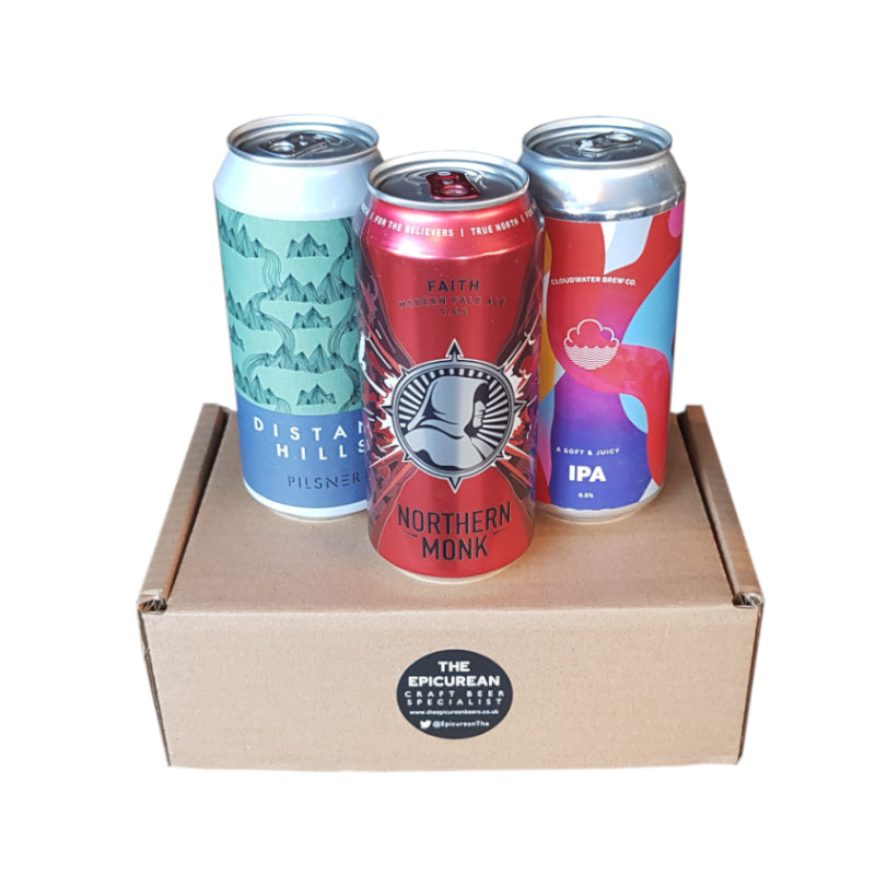 Entry Level 3 Beer Box (Large Cans - Beers will vary) - The Epicurean