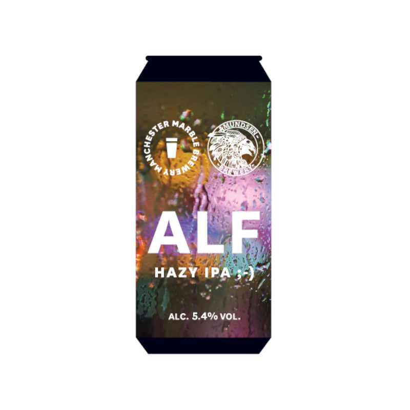Marble, ALF, Hazy Pale Ale, 5.4%, 500ml - The Epicurean
