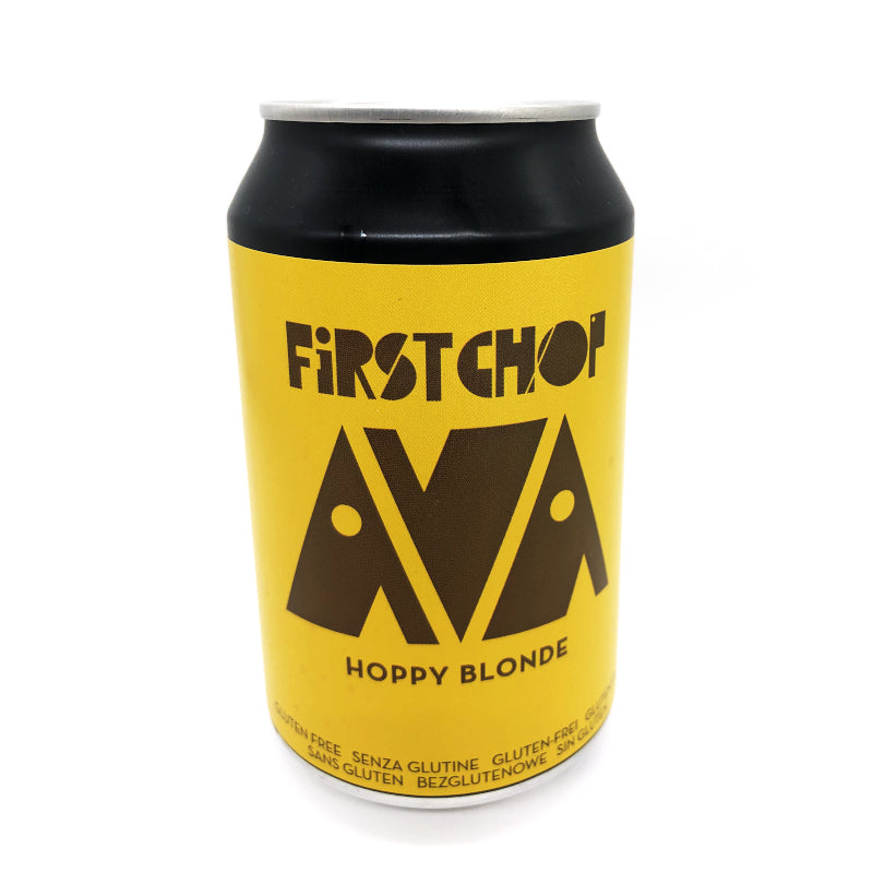 First Chop, AVA Hoppy Blonde, British Blond Beer, 3.5%, 330ml - The Epicurean