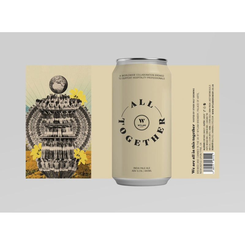 Wylam, All Together IPA, collab with Other Half, 6.5%, 440ml - The Epicurean