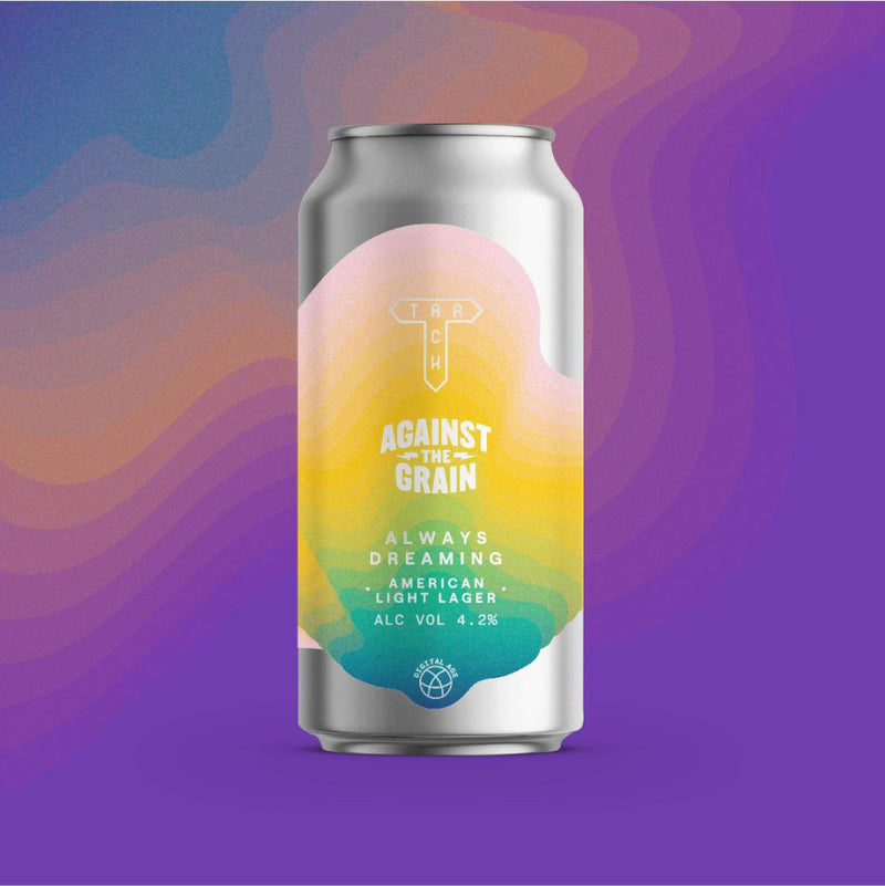 Track Brewing Co, Always Dreaming, American Light Lager, 4.2%, 440ml