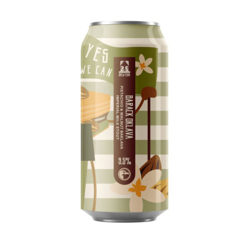 Brew York, Barack Oklava, Pistachino & Walnut Baklava Imperial Milk Stout, 9.5%, 440ml