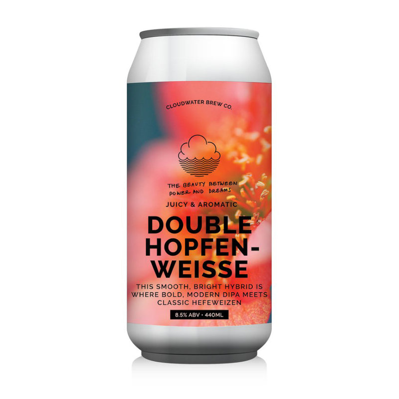 Cloudwater, The Beauty Between Power & Dreams, Double Hopfen-Weisse, 8.5%, 440ml - The Epicurean