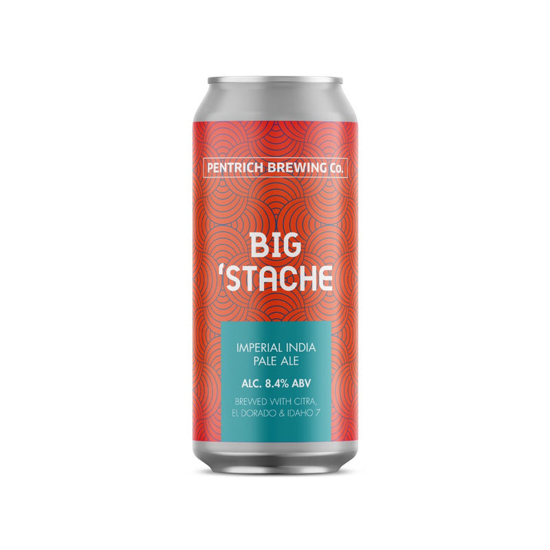 Pentrich Brewing Co, Big Stache, Imperial IPA, DIPA, 8.4%, 440ml