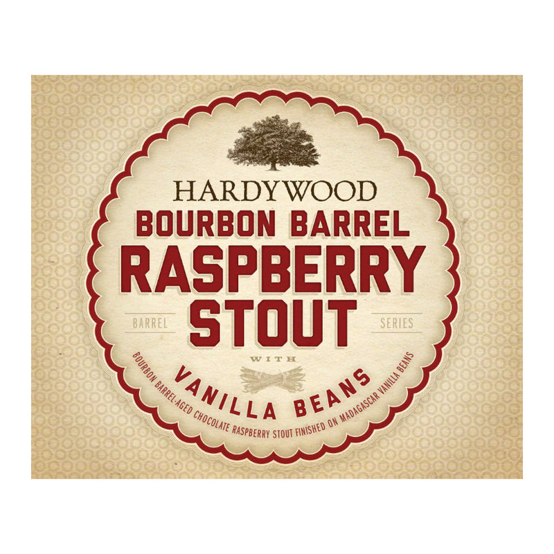 Hardywood, Bourbon Barrel Raspberry Stout with Vanilla Beans, Imperial Stout, 11.5%, 750ml - The Epicurean