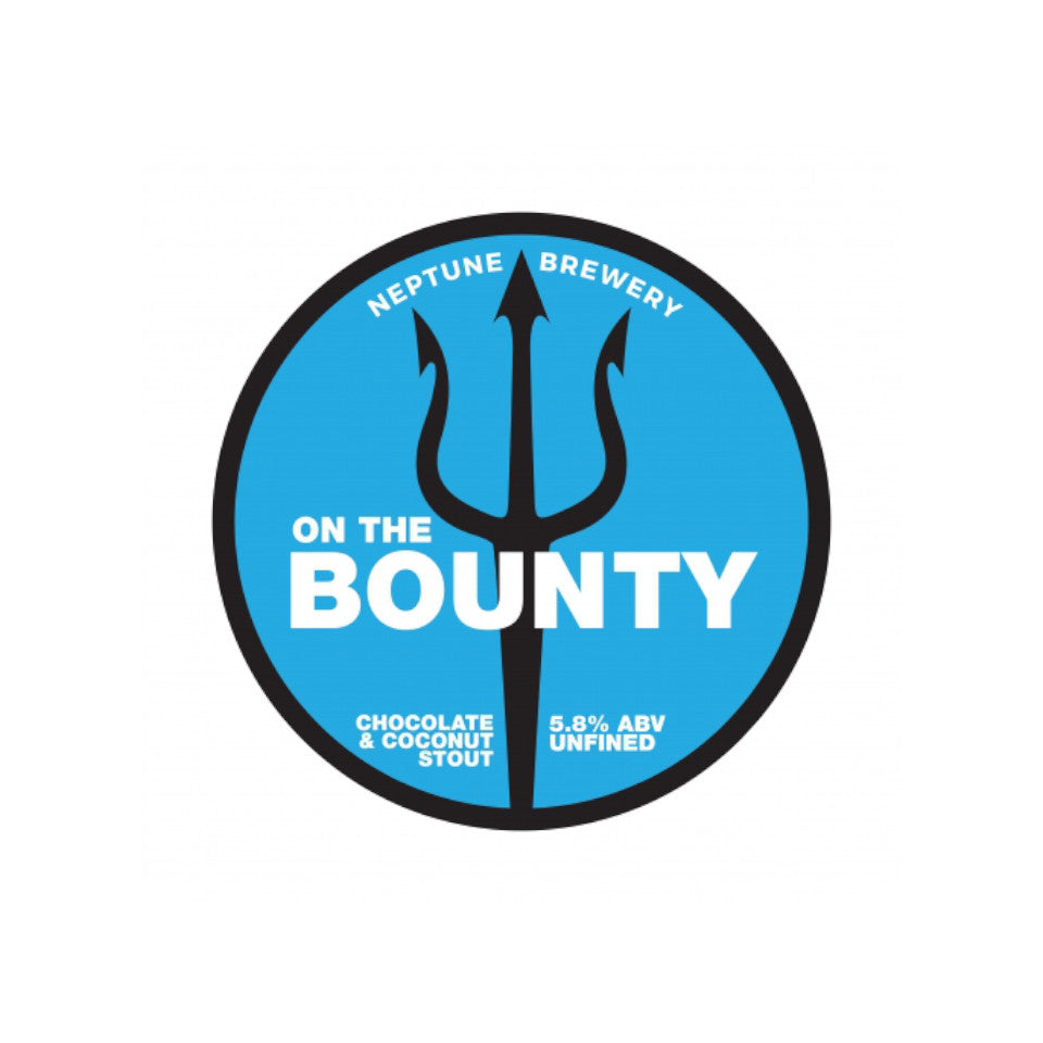 Neptune, On the Bounty, Chocolate & Coconut Stout, 5.8%, 440ml