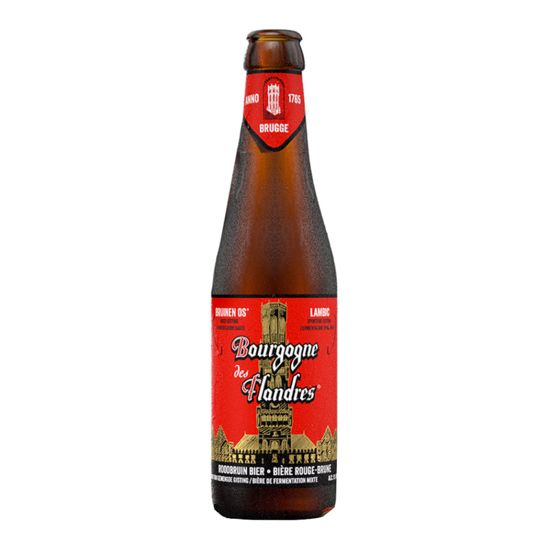 Bourgogne Des Flandres, Blended Flemish Ale, Sour Brown Ale, 5.0%, 330ml