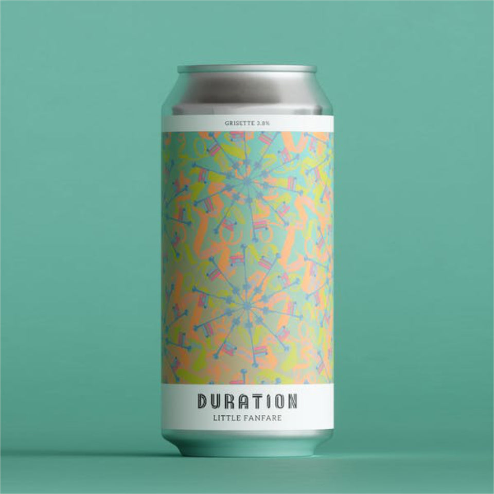 Duration Brewing, Little Fanfare, Grisette, 3.8%, 440ml - The Epicurean