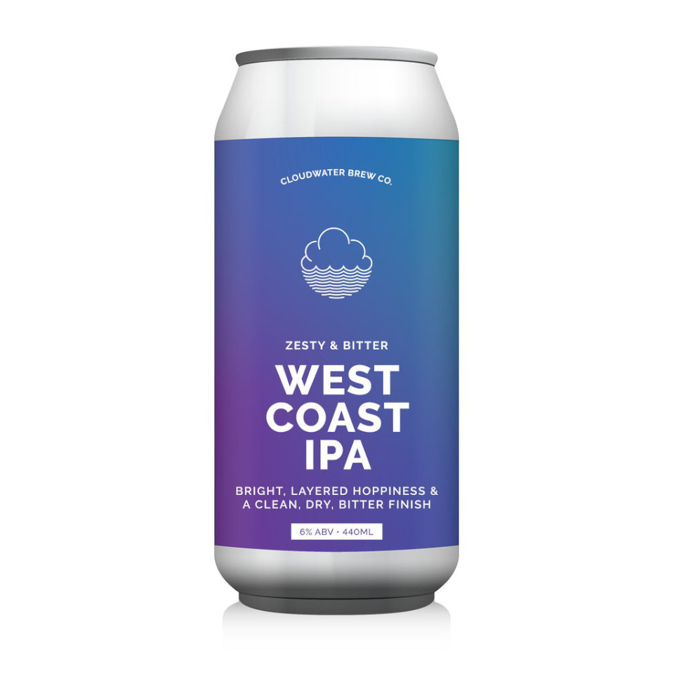 Cloudwater, West Coast IPA, 6.0%, 440ml - The Epicurean
