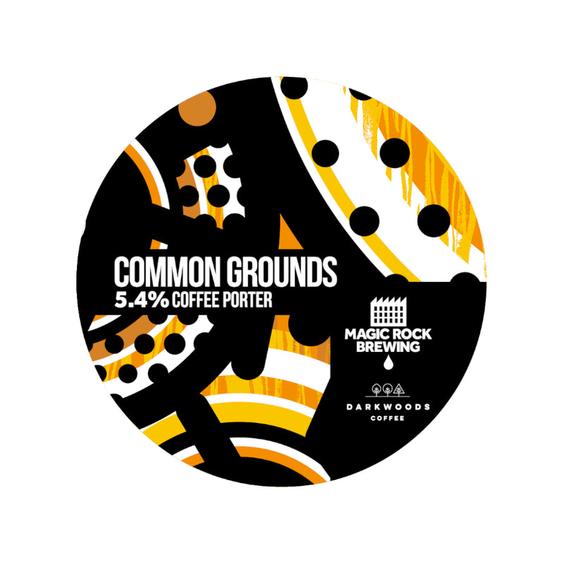 Magic Rock, Common Grounds, Coffee Porter, 5.4%, 330ml - The Epicurean