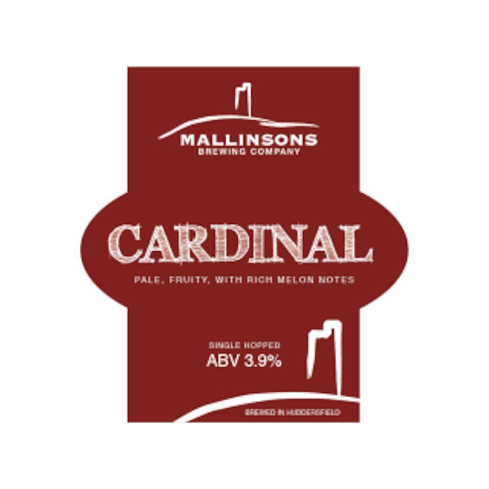 Mallinsons, Cardinal, Single Hopped Pale Ale, 4.0%, 500ml - The Epicurean