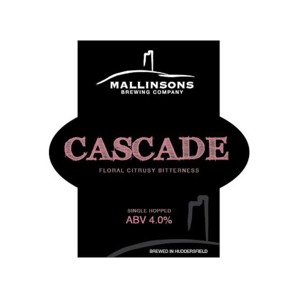Mallinsons, Cascade, Single Hopped Pale Ale, 4.1%, 500ml - The Epicurean