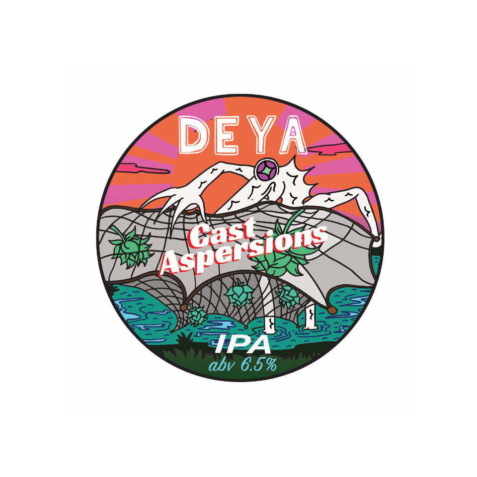 DEYA, Cast Aspersions, IPA, 6.5%, 440ml