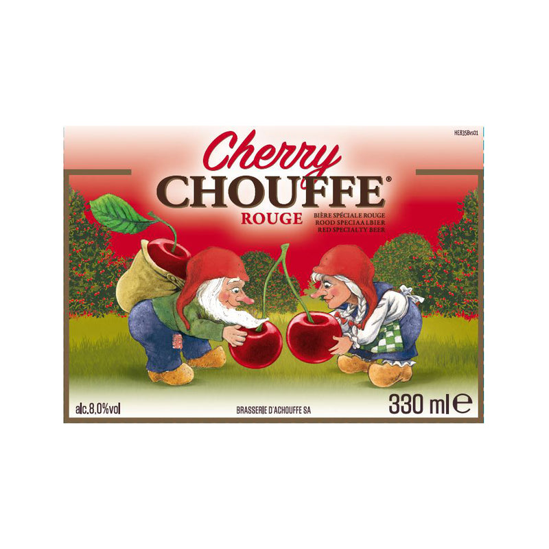 La Chouffe, Cherry Chouffe, Fruit Beer, 8.0%, 330ml - The Epicurean