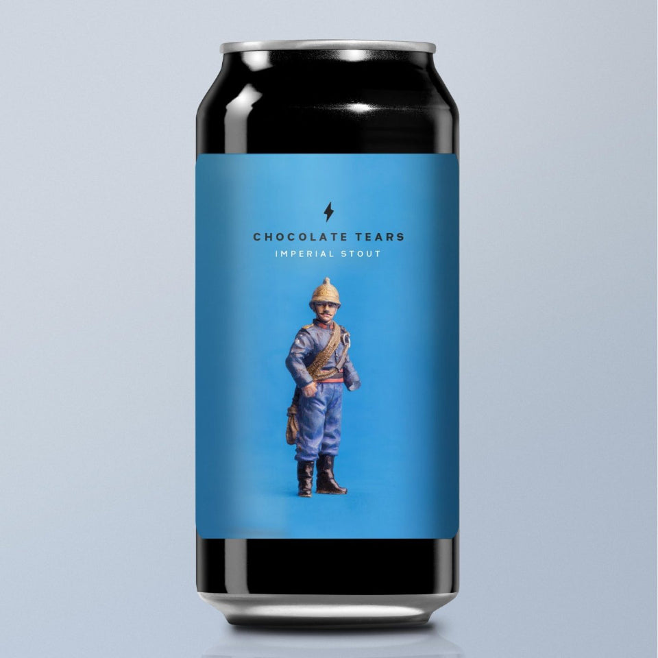 Garage Beer Co, Chocolate Tears, Imperial Stout, 11%, 440ml - The Epicurean