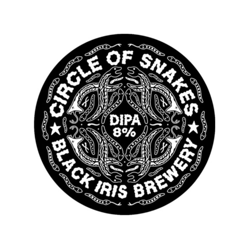 Black Iris Brewing, Circles Of Snakes, DIPA, 8.0%, 440ml - The Epicurean